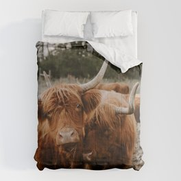 Brother Cows Comforters