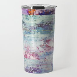 Abstract 195 Travel Mug