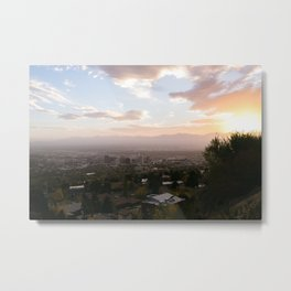 SLC Sunset Metal Print