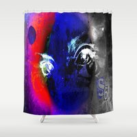 universe Shower Curtains featuring universe by Laake-Photos