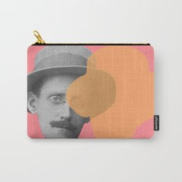 James Joyce - portrait pink and yellow Carry-All Pouch