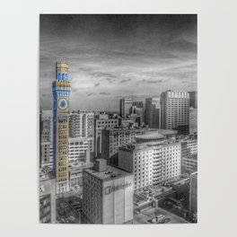 Baltimore Landscape - Bromo Seltzer Arts Tower Poster