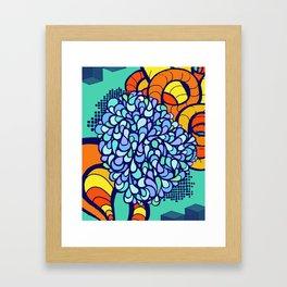 Paisley Tangle Framed Art Print
