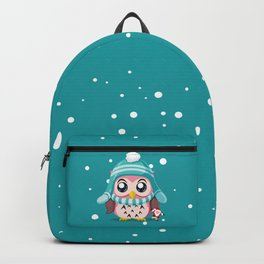 Cute Owl Holiday Backpack