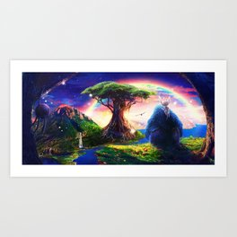 Ori and the Blind Forest Art Print