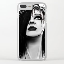 Martyr Clear iPhone Case
