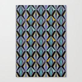 Angular, No. 05, Plumb Canvas Print