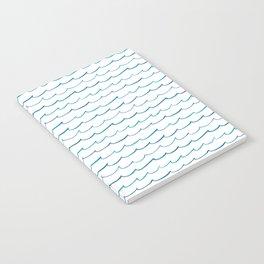 watercolor waves Notebook