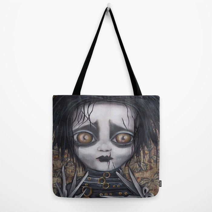Edward Scissorhands Tote Bag