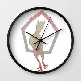 Terrestrial Microwave Wall Clock
