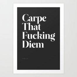 Carpe Art Print