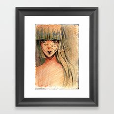 Time - Sketch Framed Art Print