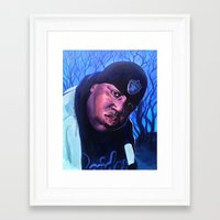 notorious Framed Art Prints featuring Notorious by JRAC