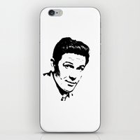 garfield iPhone & iPod Skins featuring John Garfield Is Class by Stars Live Forever
