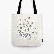 ZWR sugarcubes Tote Bag