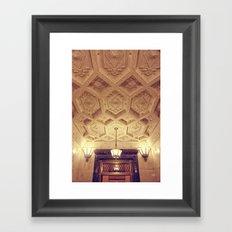 Alamo Ceiling Framed Art Print