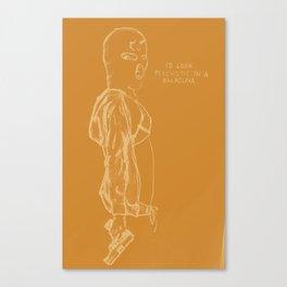 Spring Breakers/Vampire Weekend (Orange) Canvas Print