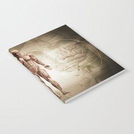 human anatomy digital render Notebook