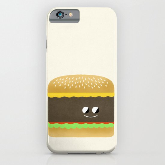 Cheesy Burger iPhone & iPod Case