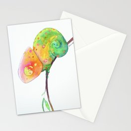 Curious Chameleon Stationery Cards