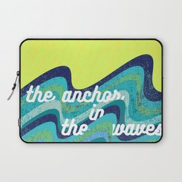 Anchor In The Waves Laptop Sleeve