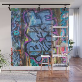 Painted Doorway Wall Mural