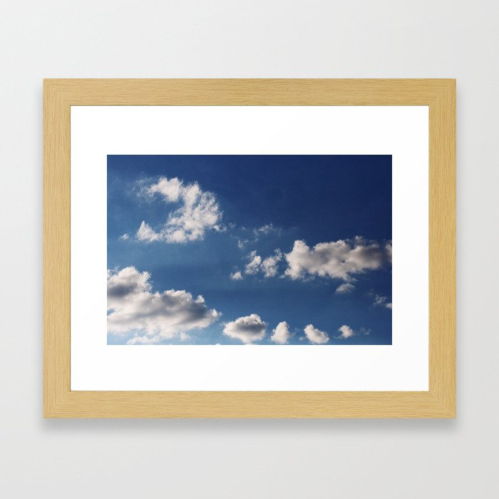 Cottonballs Framed Art Print