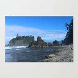 Morning At Ruby Beach Canvas Print