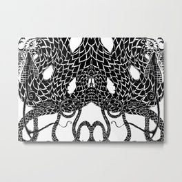 Break Your Oroboros Metal Print