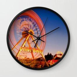 Giant Wheel Wall Clock