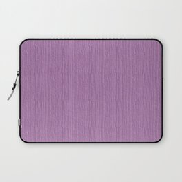 Violet Tulle Wood Grain Color Accent Laptop Sleeve