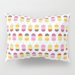 Kawaii Summer Ice Lollies / Popsicles Pillow Sham