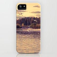 Flying around iPhone (5, 5s) Slim Case