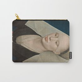 Portrait of a Lady by Rogier van der Weyden Carry-All Pouch