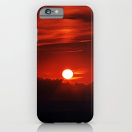 Italian Sunset iPhone Case