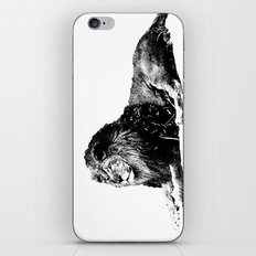 Lion Pen Strokes iPhone & iPod Skin