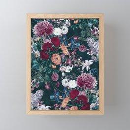 EXOTIC GARDEN - NIGHT XVIII Framed Mini Art Print