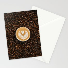 coffee #society6 #decor #buyart Stationery Cards
