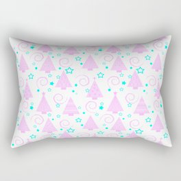 Pastel . Christmas 3 Rectangular Pillow