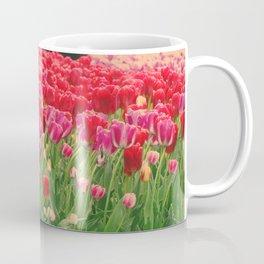 The dancing tulips Coffee Mug