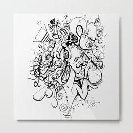 An artist's mind vol.1 Metal Print