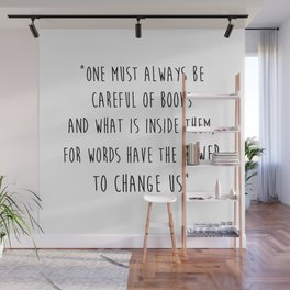 Words Have The Power To Change Us Wall Mural