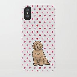 Polka Doodle iPhone Case
