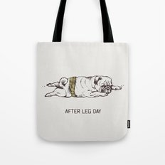 AFTER LEG DAY Tote Bag