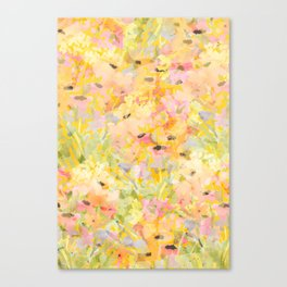 Buttercup Fields Forever Canvas Print