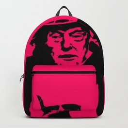 Neon Pink Uncle Trump Needs You Backpack