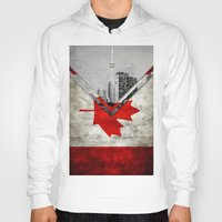 canada Hoodies featuring Flags - Canada by Ale Ibanez