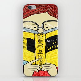 Doodle For Dummies iPhone Skin