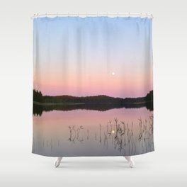 Dreamy summer scene Shower Curtain