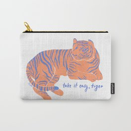 Take It Easy, Tiger Carry-All Pouch